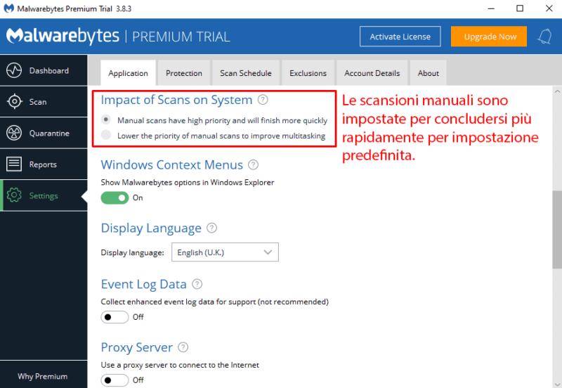 Semplicità d'uso e installazione di Malwarebytes