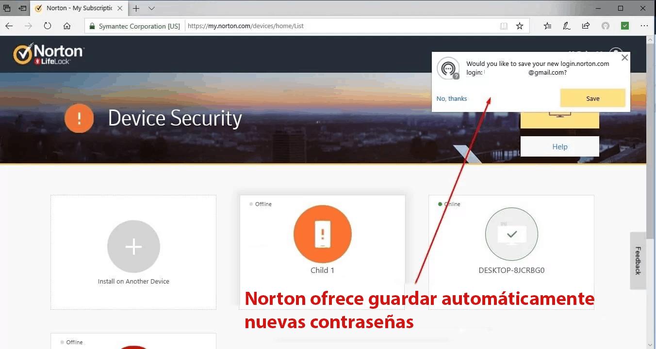 Funciones de Seguridad de Norton Antivirus