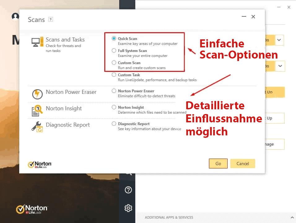 Norton 360 Benutzerfreundlichkeit