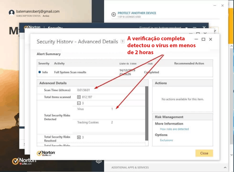 Recursos do Norton 360 Security