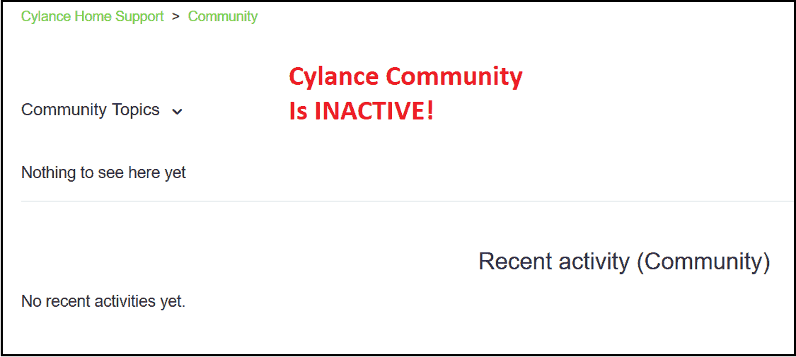 Cylance Customer Support