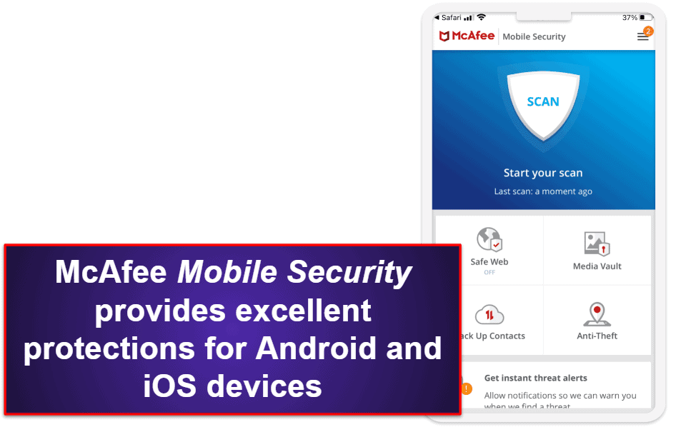 McAfee Mobile App