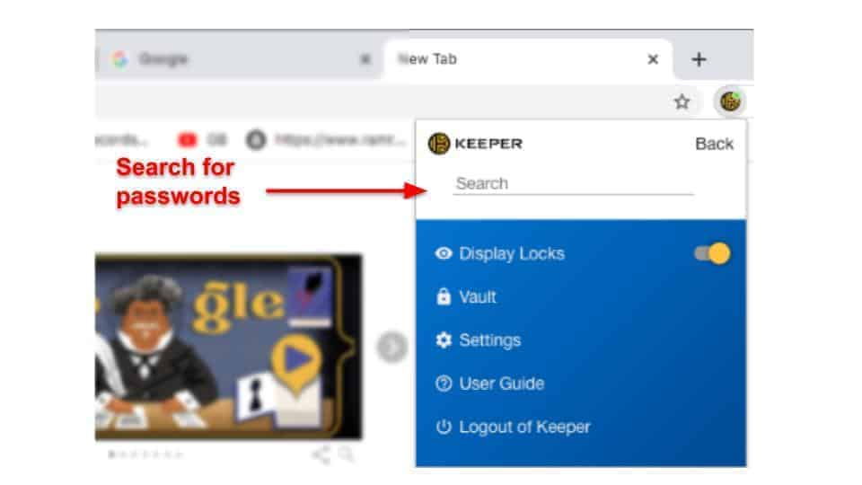 Keeper Security Features
