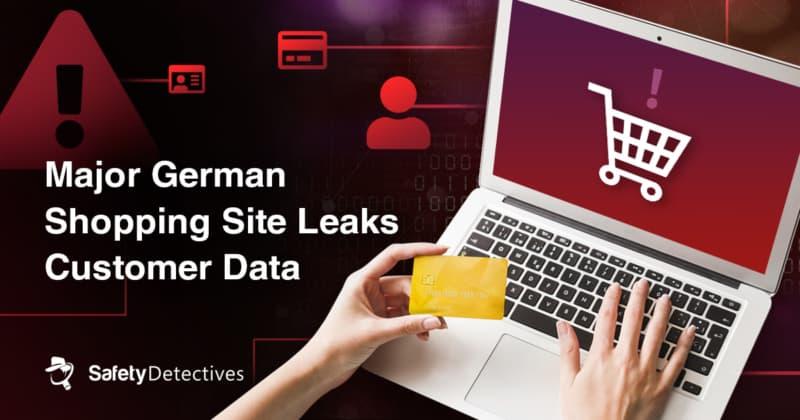 Major German shopping site leaks customer data