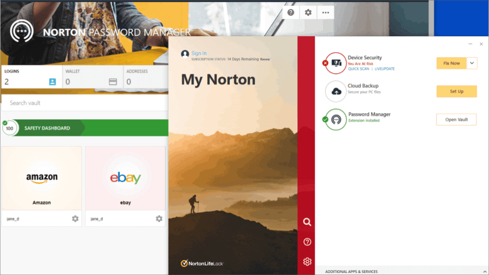 """🥇1. <a href=""""https://www.safetydetectives.com/go/vendor/210/?post_id=895&alooma_btn_name=Affiliate+Link+-+211432"""" title=""""Norton"""" rel=""""nofollow noopener"""" target=""""_blank"""" data-btn-name=""""Affiliate Link - 211432"""" data-btn-indexed=""""1"""">Norton 360</a> — Best Antivirus with a Password Manager in 2020"""