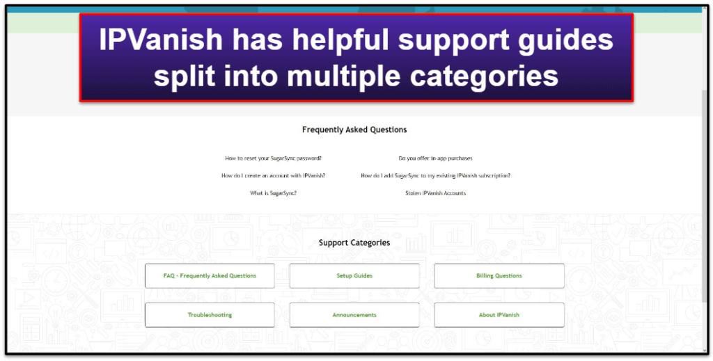 IPVanish Customer Support