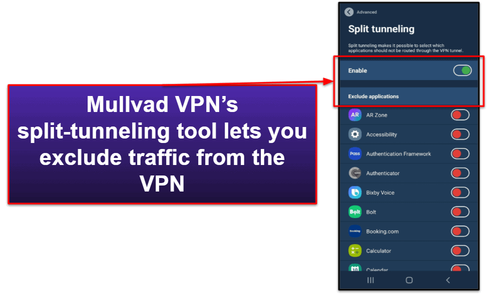 Mullvad VPN Features