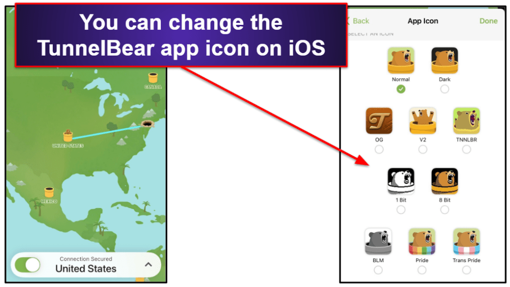 TunnelBear Ease of Use: Mobile & Desktop Apps
