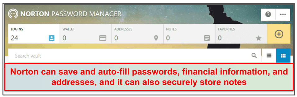 Norton Security Features