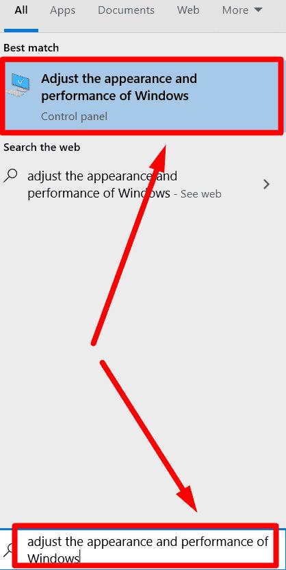 Adjust Appearance & Visual Settings