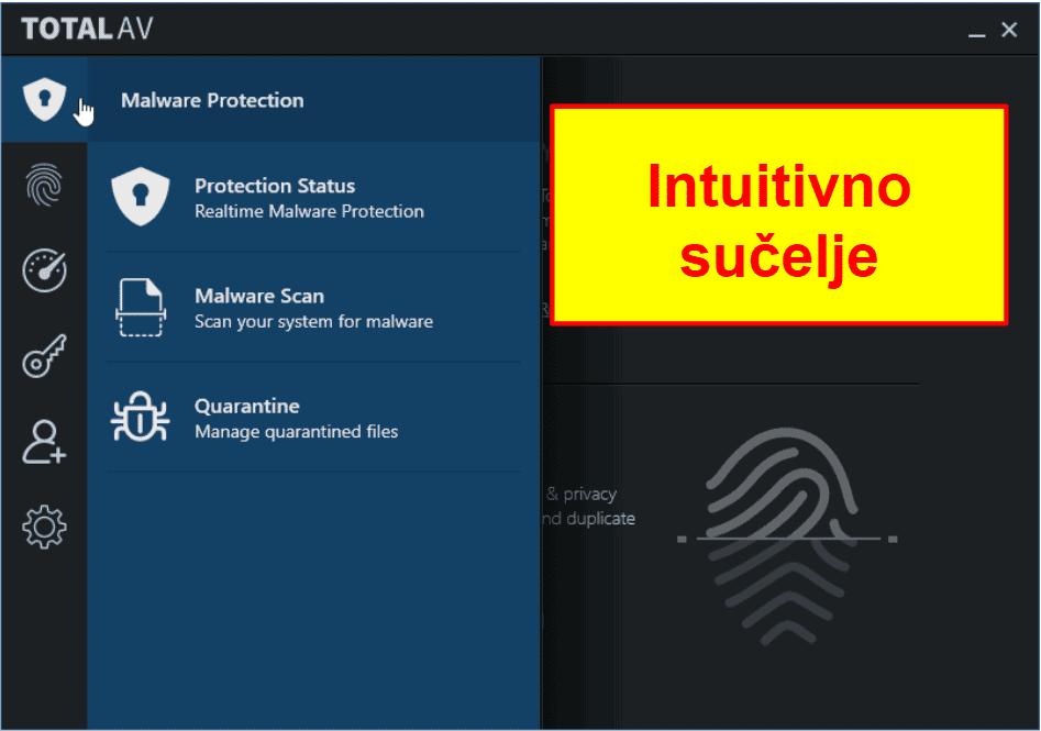 TotalAV jednostavnost korištenja i instalacija