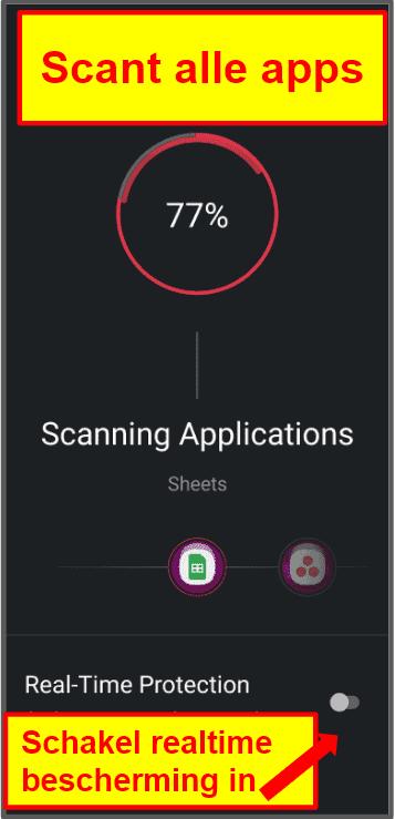 TotalAV mobiele app
