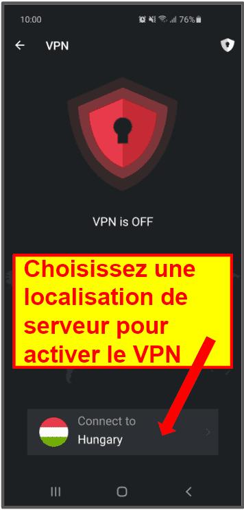Appli mobile TotalAV