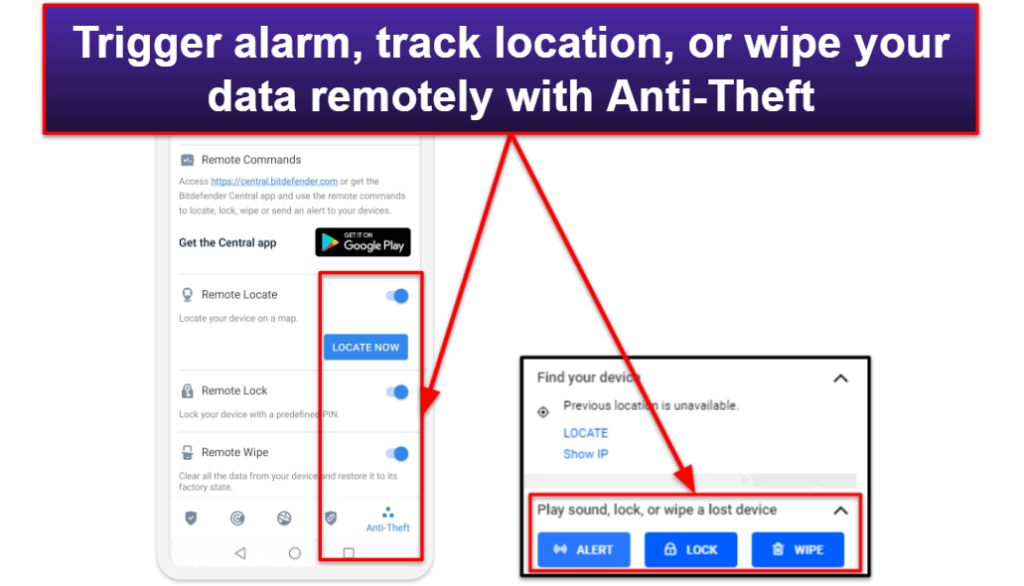 Bitdefender's Mobile App