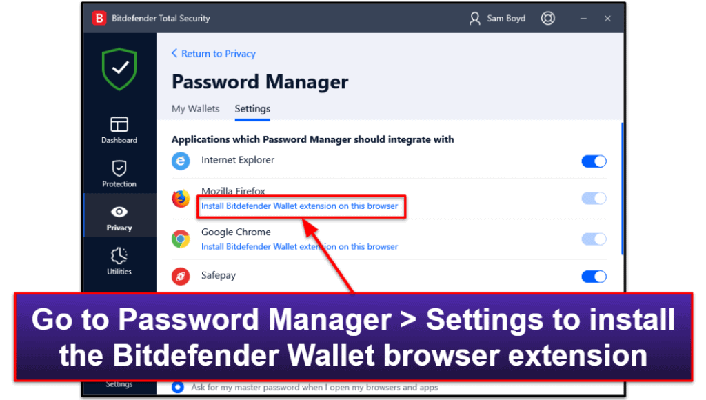 Bitdefender Security Features