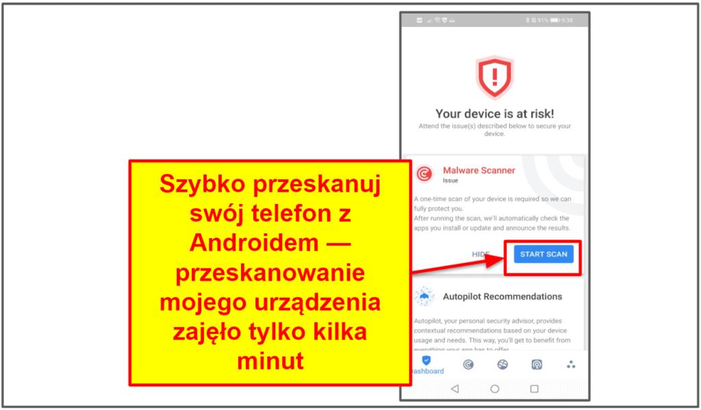 Aplikacje mobilne Bitdefendera