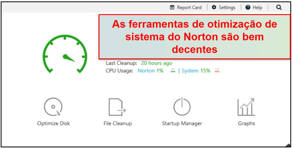Recursos de segurança do Norton 360