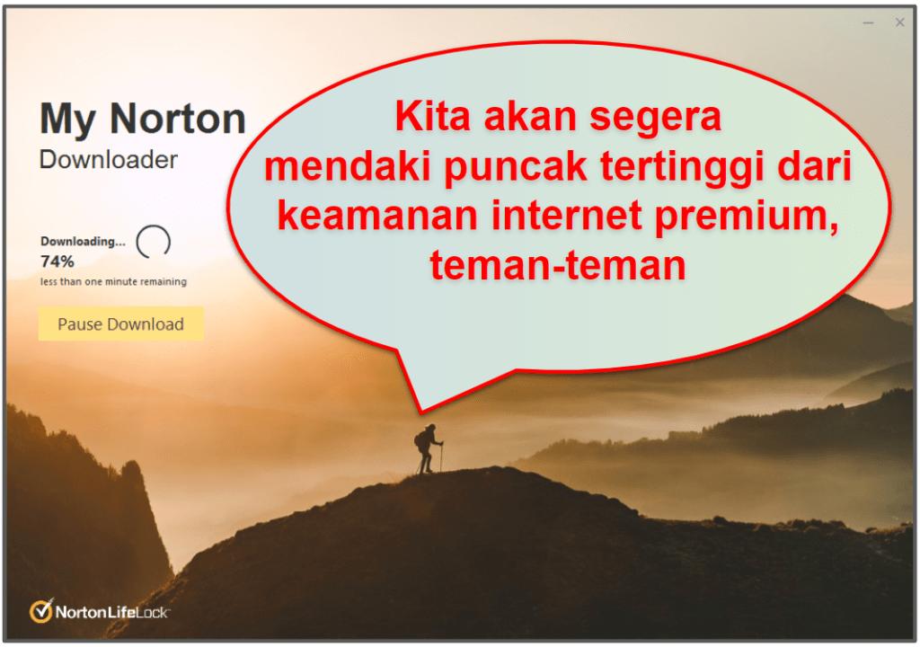Pengaturan dan Kemudahan Penggunaan Norton 360