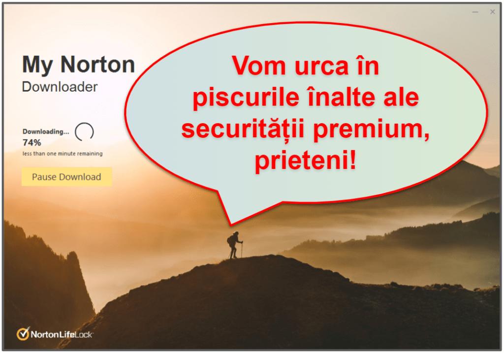 Norton 360 – Ușurință de utilizare și Configurare