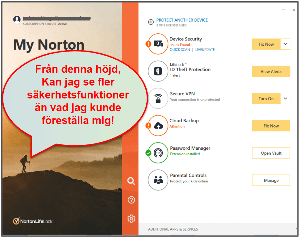 Norton 360 – Användarvänlighet och installation