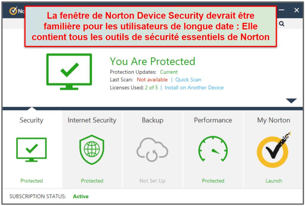 Facilité d'utilisation et d'installation de Norton 360
