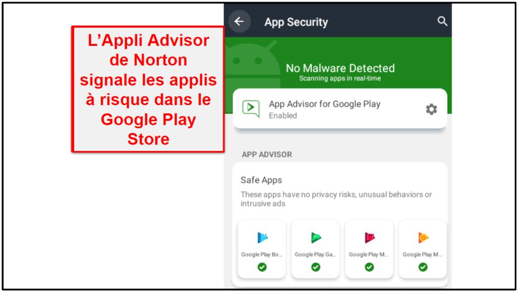 Appli mobile Norton 360