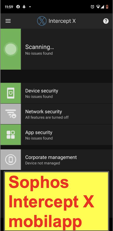 Sophos Antivirus mobilapp