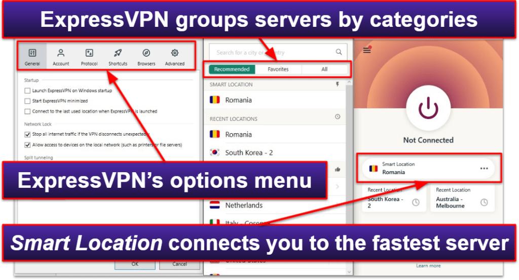 ExpressVPN Ease of Use: Mobile & Desktop Apps