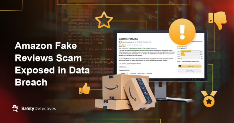 Amazon Fake Reviews Scam Exposed in Data Breach