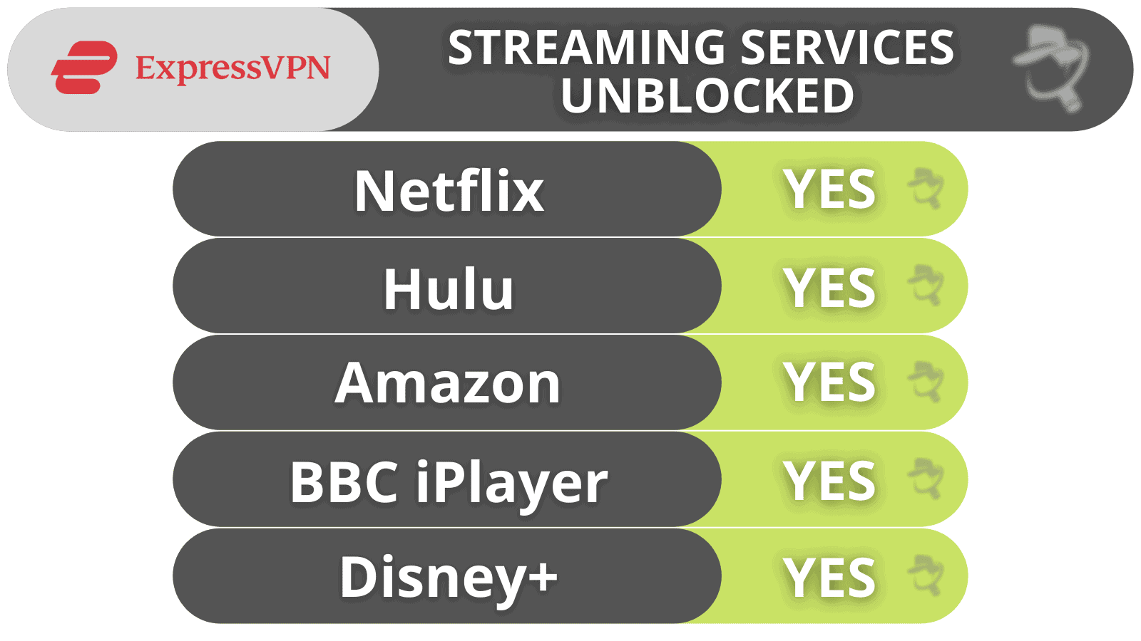 ExpressVPN Streaming & Torrenting