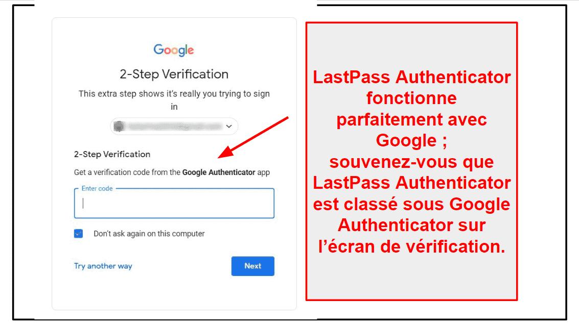 Fonctionnalités de sécurité de LastPass