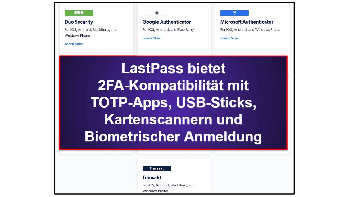 1Password vs. LastPass: Sicherheit