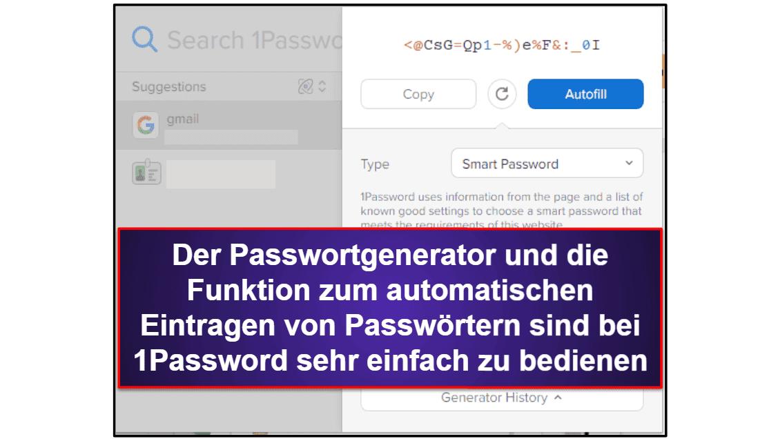 1Password vs. LastPass: Grundfunktionen