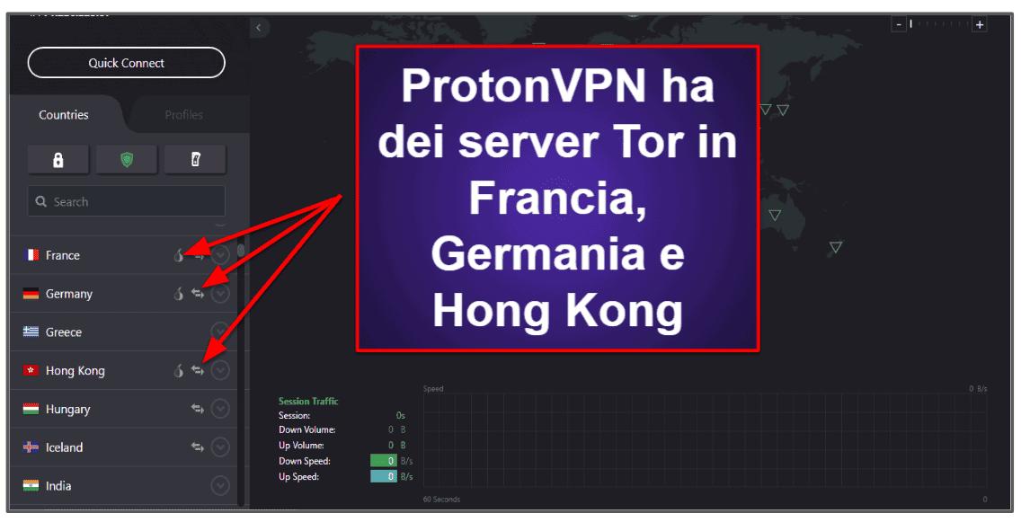 Caratteristiche di ProtonVPN