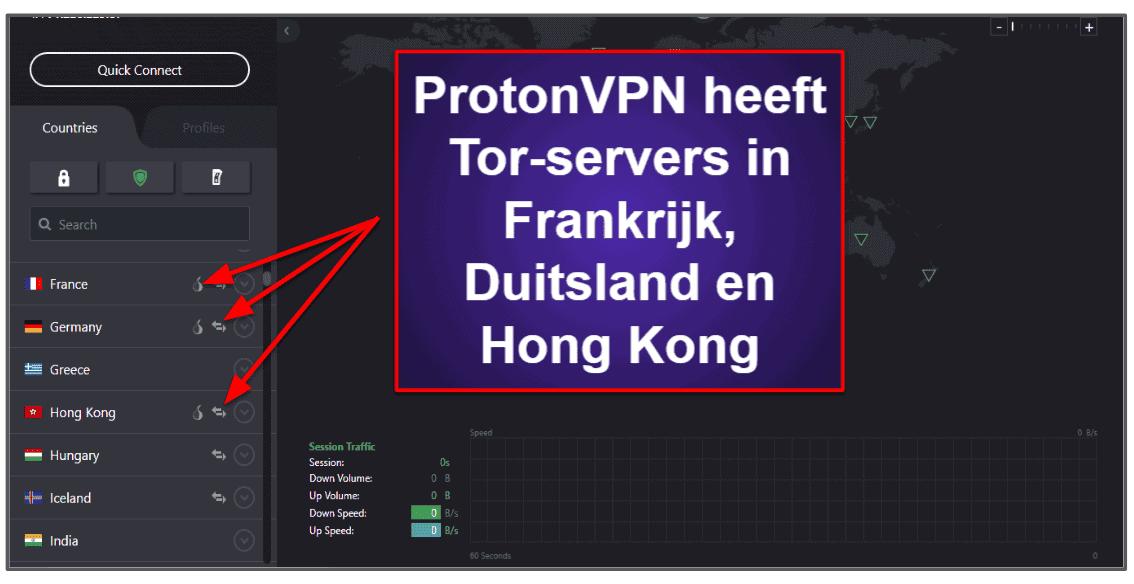 ProtonVPN Functies