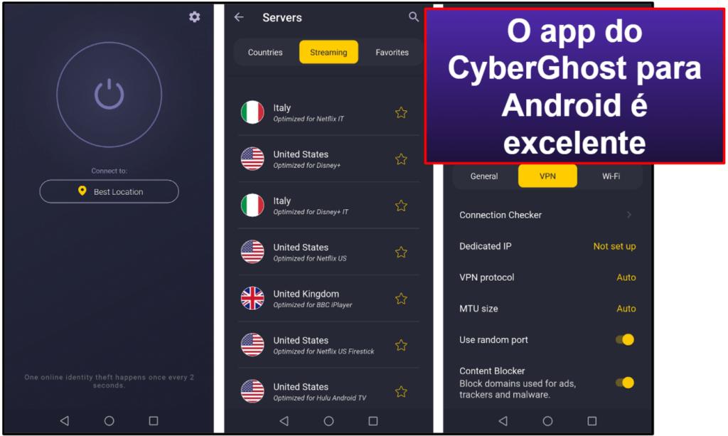 CyberGhost VPN: facilidade de uso – apps e desktop