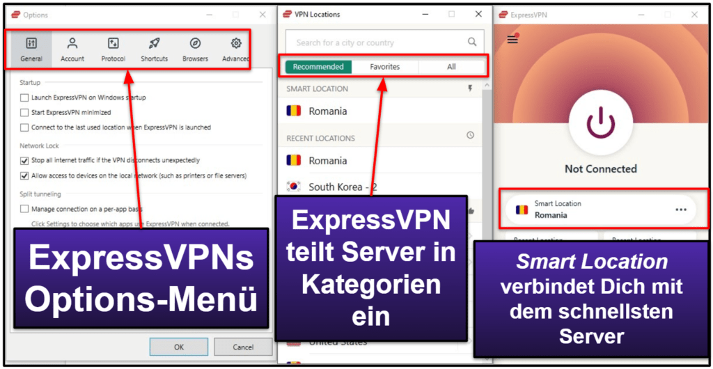 ExpressVPN mobile + Desktop Apps