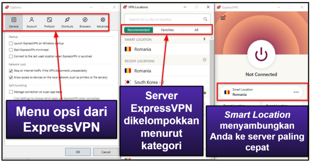 Aplikasi Mobile + Desktop ExpressVPN