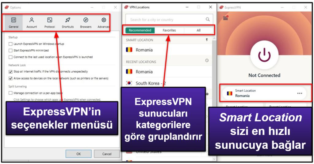 ExpressVPN Kullanım Kolaylığı: Mobil ve Masaüstü Uygulamalar