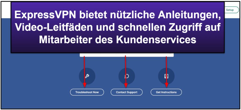 ExpressVPN Kundenservice