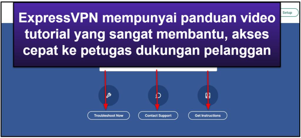 Dukungan Pelanggan ExpressVPN