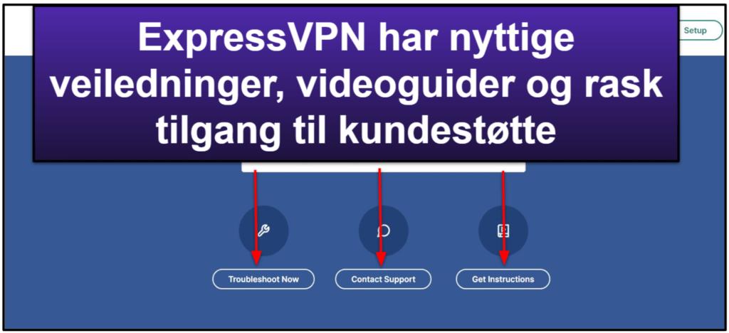 ExpressVPN – kundestøtte