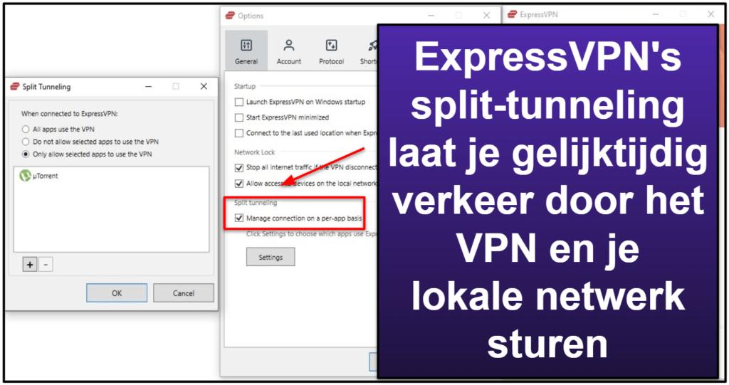 ExpressVPN functies