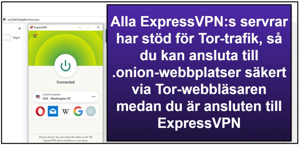 ExpressVPN:s funktioner
