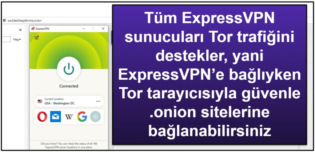 ExpressVPN Özellikleri