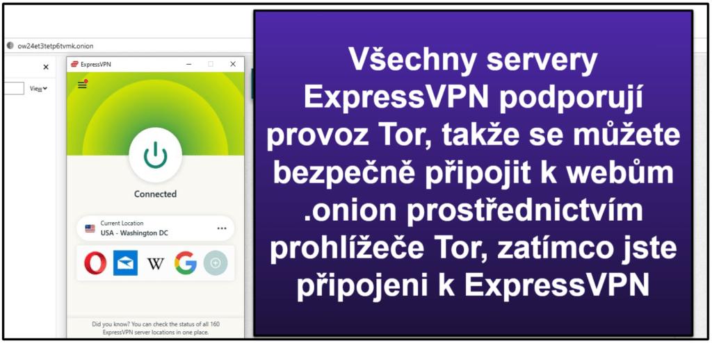 Funkce ExpressVPN