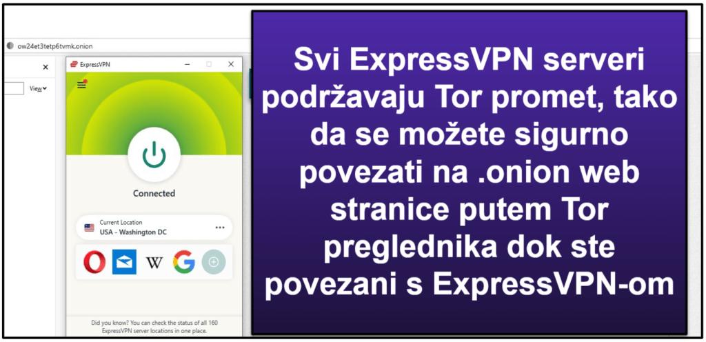 ExpressVPN značajke