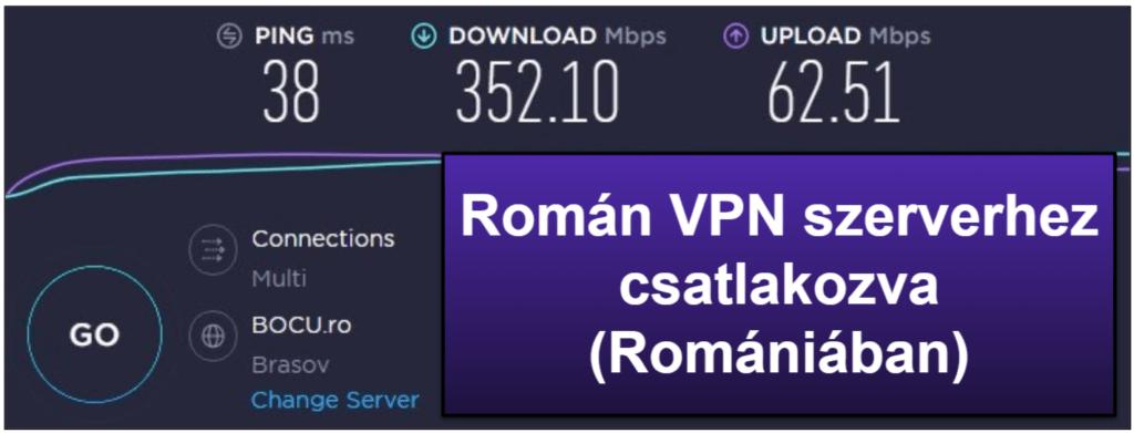 Az ExpressVPN által nyújtott sebesség & teljesítmény