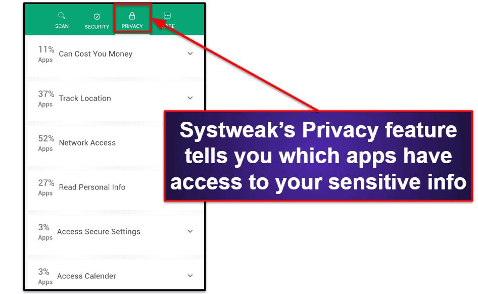 Systweak Mobile App