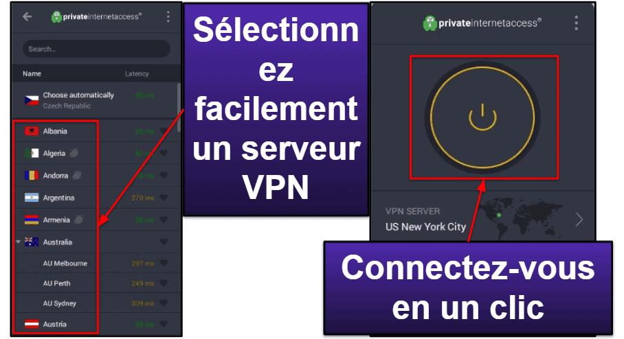 Private Internet Access : Forfaits et prix